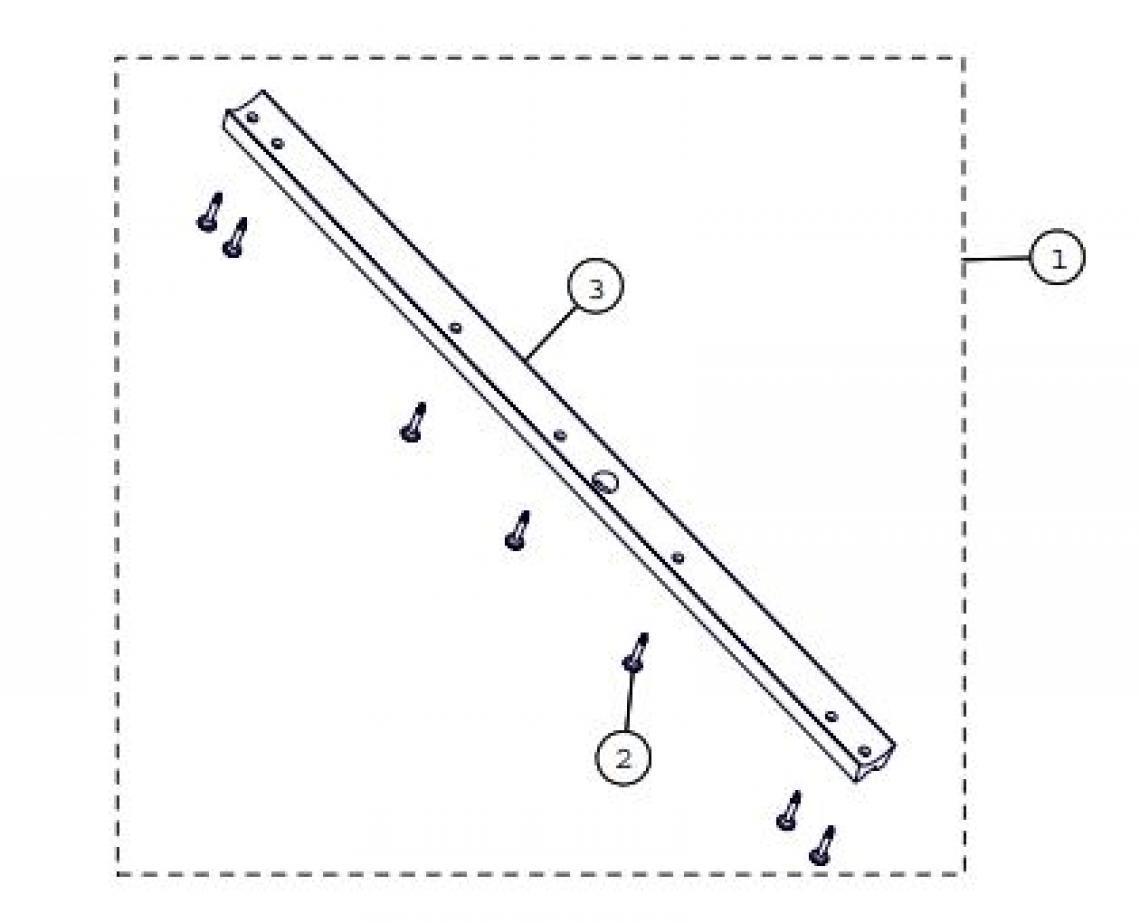 Front Guide UTV Track Parts for 2015 Camoplast TATOU 4S