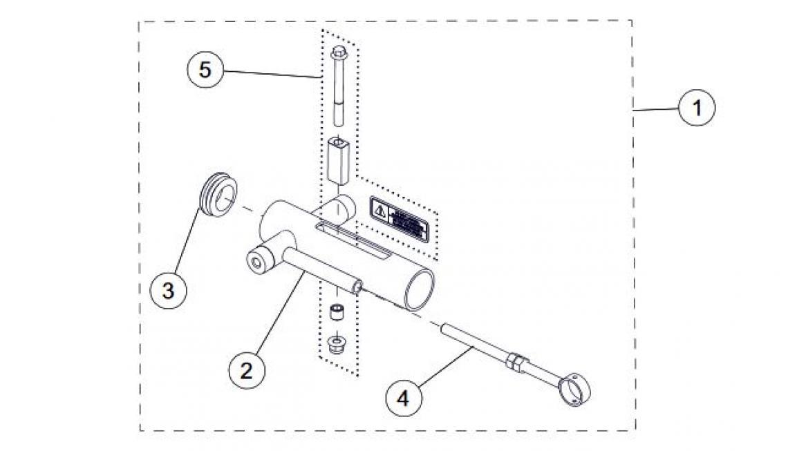 Short Track Tensioner Kit Atv Track Parts For 2017 Camso T4s