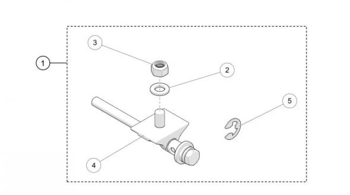 Tensioner Adjustment Screw Utv Track Parts For 2018 Camso 4s1