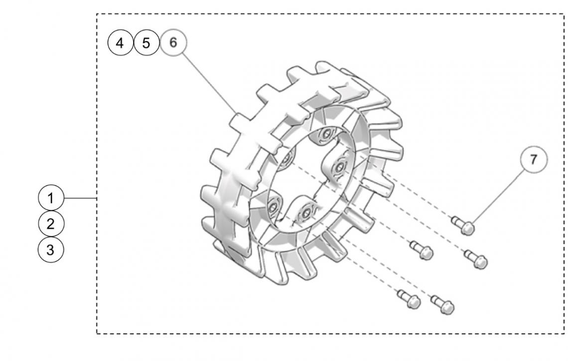 2021 Camso X4S UTV 5-Bolt Sprocket Kits