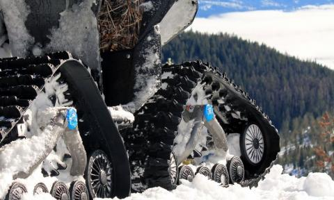 The Best ATV Tracks for Deep Snow