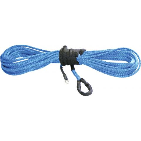 "Synthetic Winch Cable Blue 15/64""x38' Thumbnail"