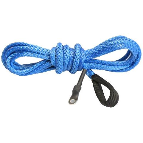 Synthetic Winch Plow Cable Blue 12' Thumbnail