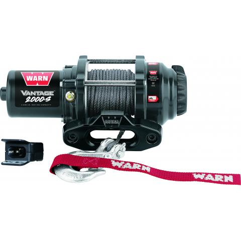 Vantage 2000-S Winch W/Synthetic Rope Thumbnail